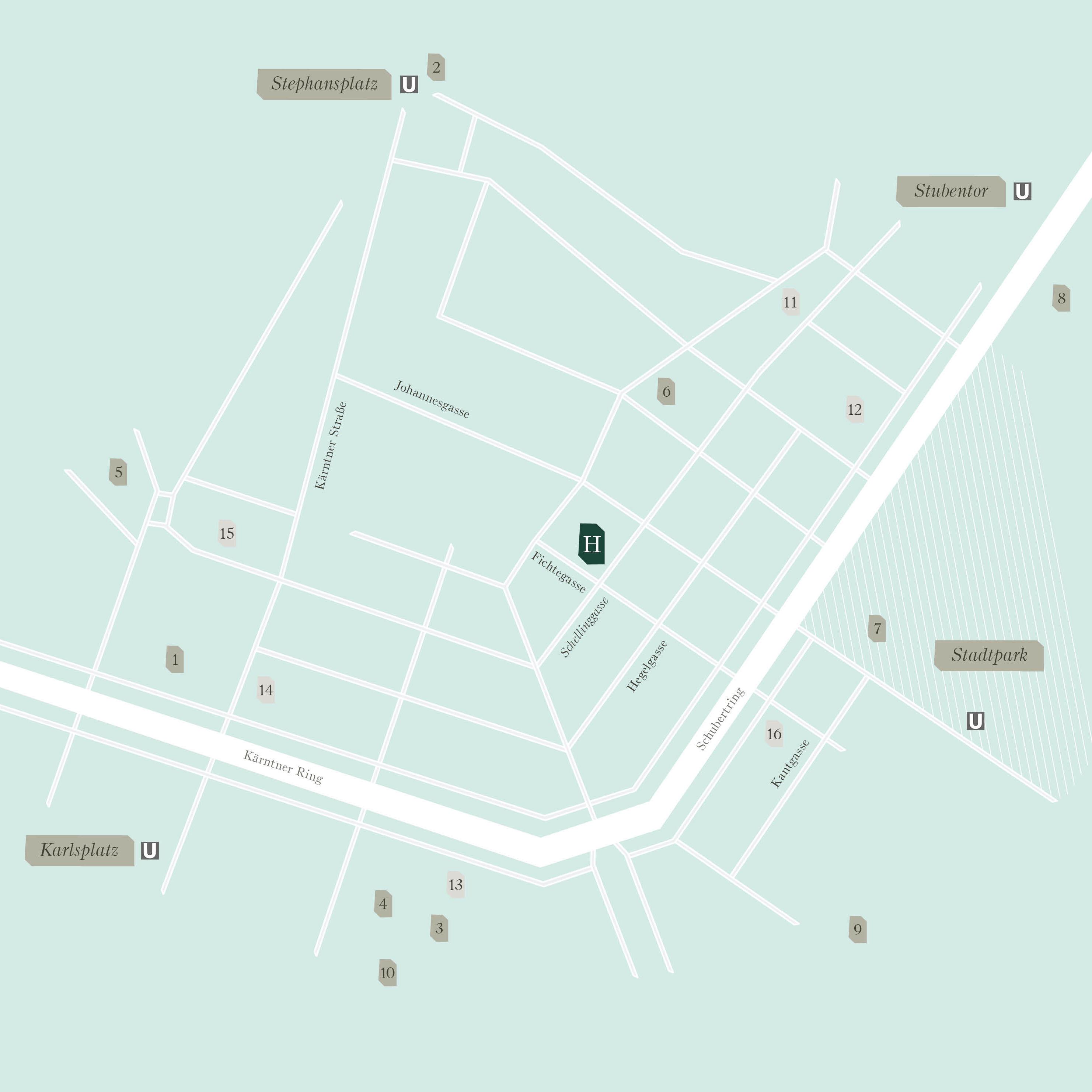 Überzeugender Lässt Sich Die Zentrale Lage Des Herzfeldhauses Nicht  Beschreiben. Wiens Erste Einkaufsstraße Ist Die Namenspatronin Des Kärntner  Viertels Und ...